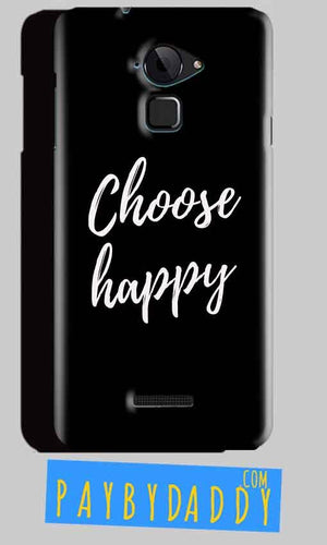 CoolPad Note 3 Mobile Covers Cases Choose happy - Lowest Price - Paybydaddy.com