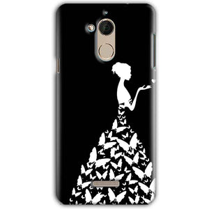 CoolPad Note 5 Mobile Covers Cases Butterfly black girl - Lowest Price - Paybydaddy.com