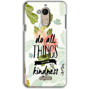 CoolPad Note 5 Mobile Covers Cases Do all things with kindness - Lowest Price - Paybydaddy.com