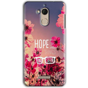CoolPad Note 5 Mobile Covers Cases Hope in the Things Unseen- Lowest Price - Paybydaddy.com