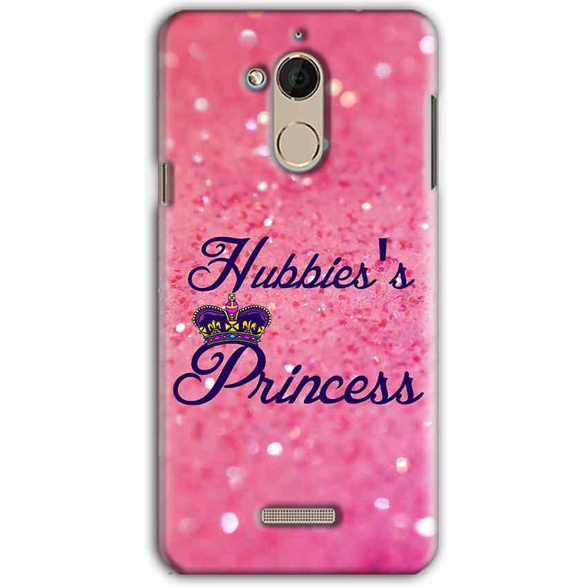 CoolPad Note 5 Mobile Covers Cases Hubbies Princess - Lowest Price - Paybydaddy.com