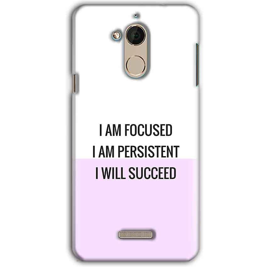 CoolPad Note 5 Mobile Covers Cases I am Focused - Lowest Price - Paybydaddy.com