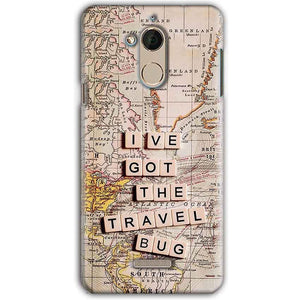 CoolPad Note 5 Mobile Covers Cases Live Travel Bug - Lowest Price - Paybydaddy.com