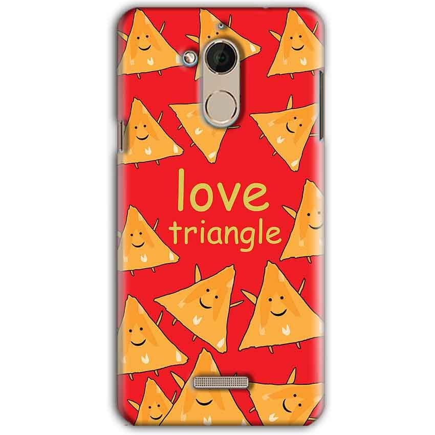 CoolPad Note 5 Mobile Covers Cases Love Triangle - Lowest Price - Paybydaddy.com
