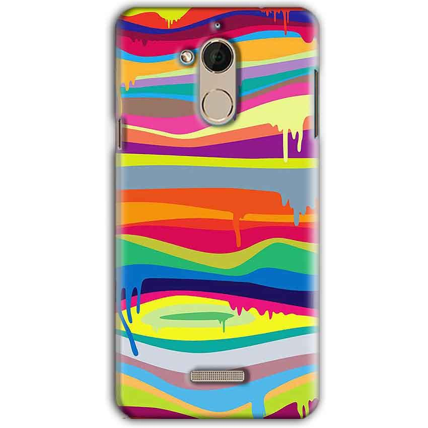 CoolPad Note 5 Mobile Covers Cases Melted colours - Lowest Price - Paybydaddy.com