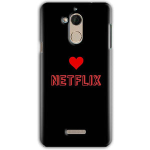 CoolPad Note 5 Mobile Covers Cases NETFLIX WITH HEART - Lowest Price - Paybydaddy.com