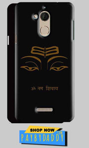 CoolPad Note 5 Mobile Covers Cases Om Namaha Gold Black - Lowest Price - Paybydaddy.com