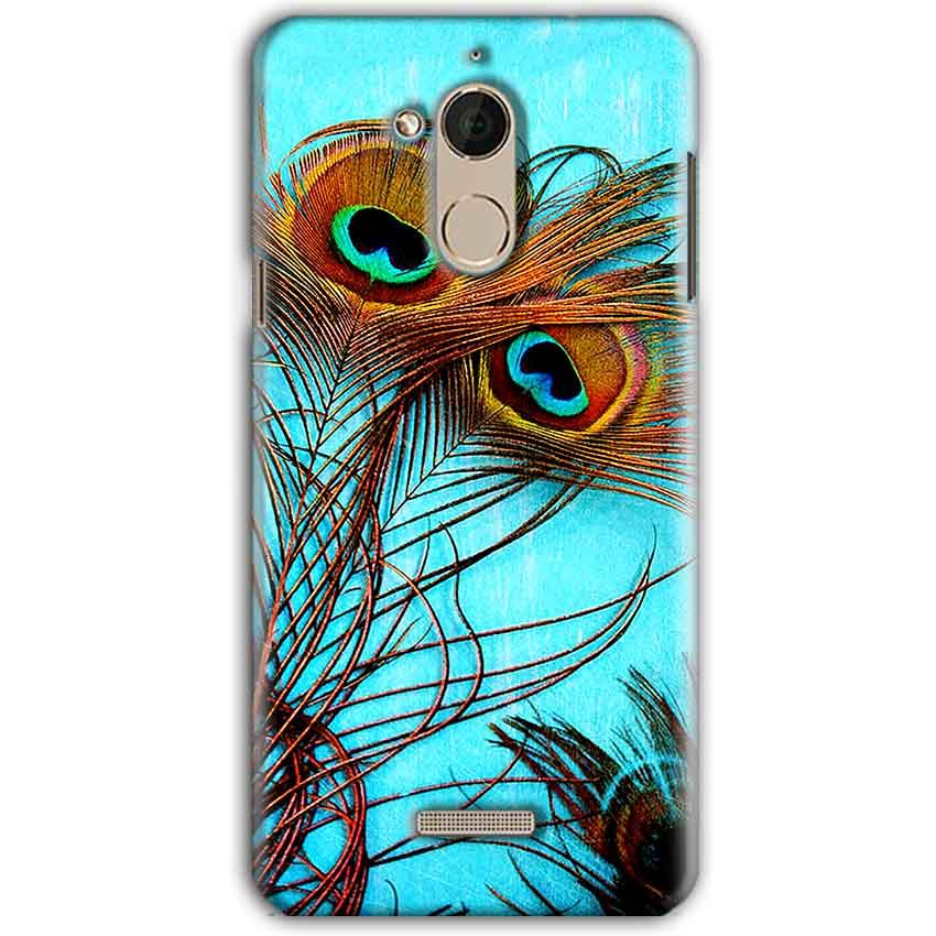 CoolPad Note 5 Mobile Covers Cases Peacock blue wings - Lowest Price - Paybydaddy.com