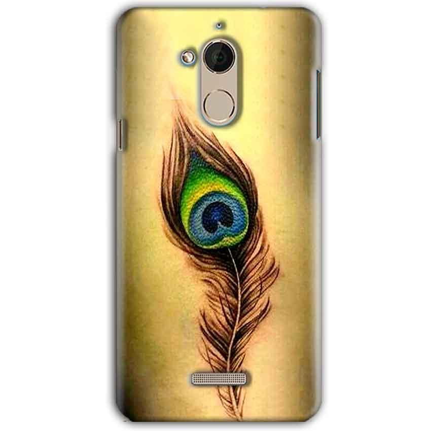 CoolPad Note 5 Mobile Covers Cases Peacock coloured art - Lowest Price - Paybydaddy.com
