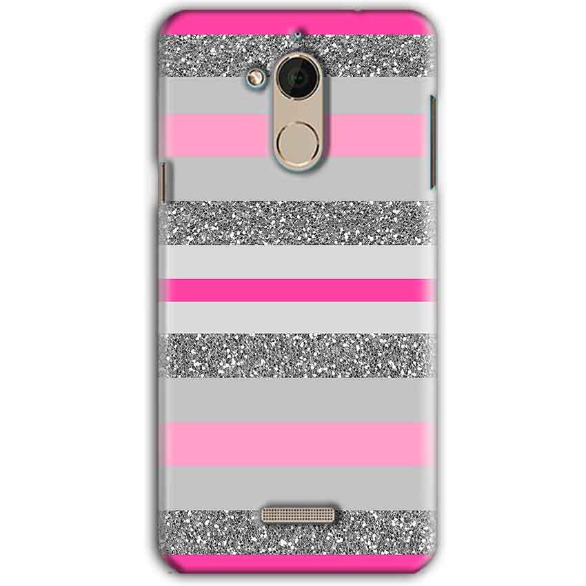 CoolPad Note 5 Mobile Covers Cases Pink colour pattern - Lowest Price - Paybydaddy.com