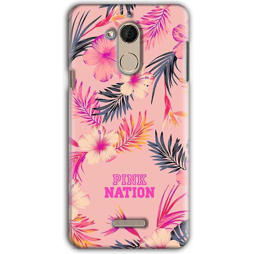 CoolPad Note 5 Mobile Covers Cases Pink nation - Lowest Price - Paybydaddy.com
