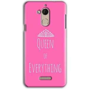 CoolPad Note 5 Mobile Covers Cases Queen Of Everything Pink White - Lowest Price - Paybydaddy.com