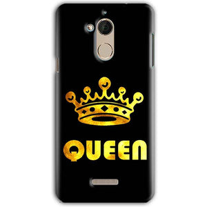 CoolPad Note 5 Mobile Covers Cases Queen With Crown in gold - Lowest Price - Paybydaddy.com