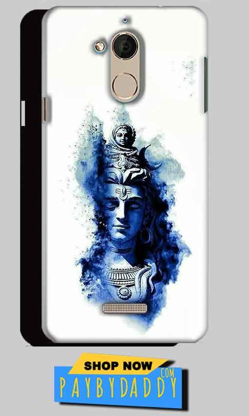 CoolPad Note 5 Mobile Covers Cases Shiva Blue White - Lowest Price - Paybydaddy.com
