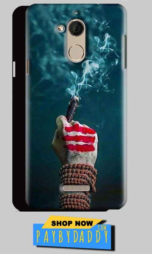 CoolPad Note 5 Mobile Covers Cases Shiva Hand With Clilam - Lowest Price - Paybydaddy.com