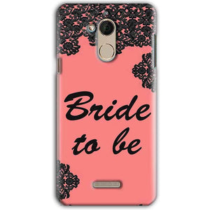 CoolPad Note 5 Mobile Covers Cases Mobile Covers Cases bride to be with ring Black Pink - Lowest Price - Paybydaddy.com
