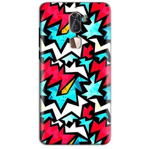 Coolpad Cool 1 Mobile Covers Cases Colored Design Pattern - Lowest Price - Paybydaddy.com
