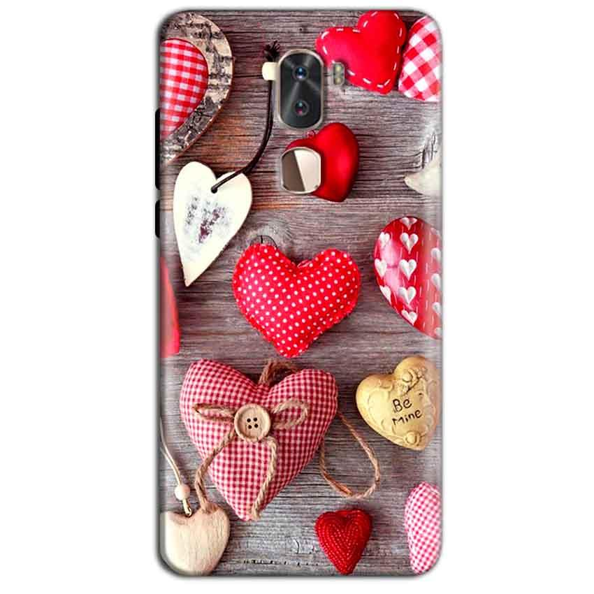 Coolpad Cool 1 Mobile Covers Cases Hearts- Lowest Price - Paybydaddy.com