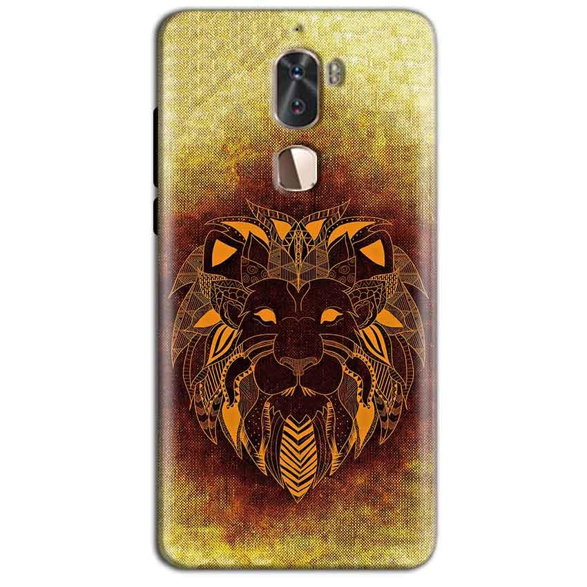 Coolpad Cool 1 Mobile Covers Cases Lion face art - Lowest Price - Paybydaddy.com