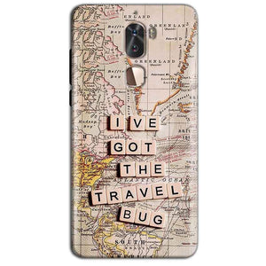 Coolpad Cool 1 Mobile Covers Cases Live Travel Bug - Lowest Price - Paybydaddy.com