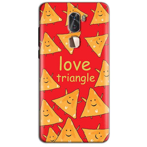 Coolpad Cool 1 Mobile Covers Cases Love Triangle - Lowest Price - Paybydaddy.com