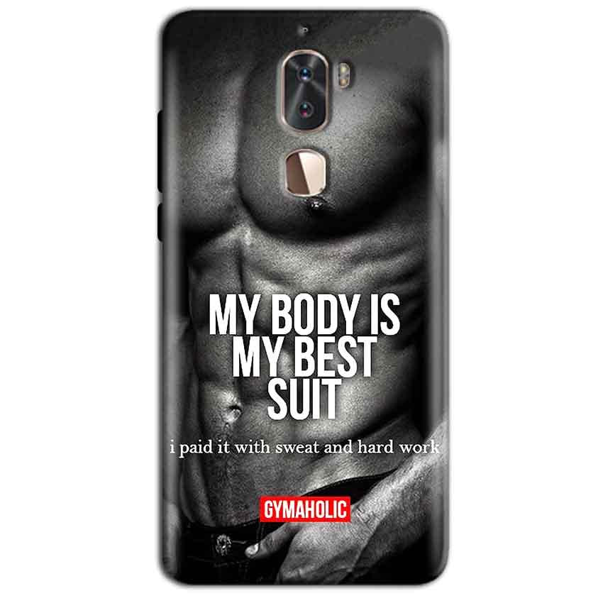 Coolpad Cool 1 Mobile Covers Cases My Body is my best suit - Lowest Price - Paybydaddy.com