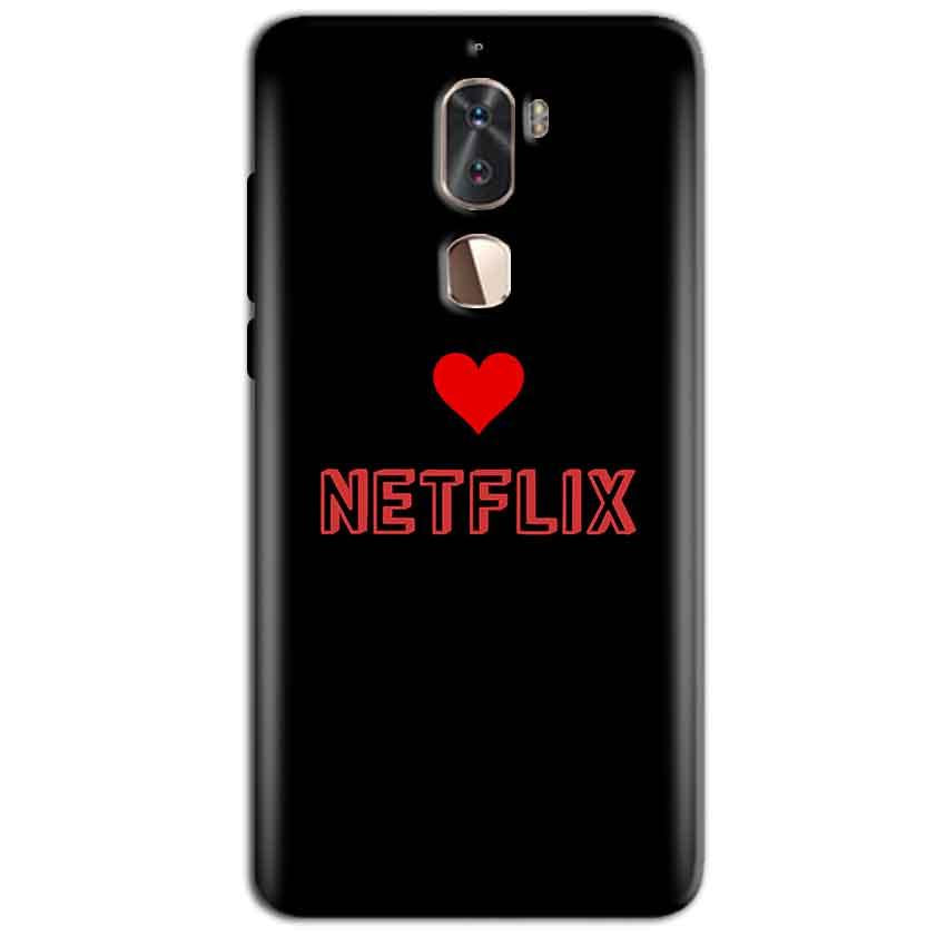 Coolpad Cool 1 Mobile Covers Cases NETFLIX WITH HEART - Lowest Price - Paybydaddy.com