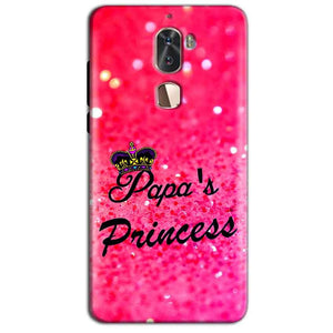 Coolpad Cool 1 Mobile Covers Cases PAPA PRINCESS - Lowest Price - Paybydaddy.com