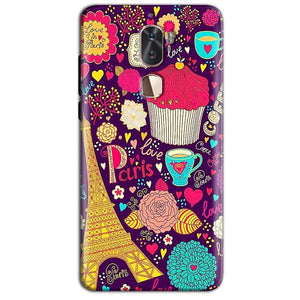 Coolpad Cool 1 Mobile Covers Cases Paris Sweet love - Lowest Price - Paybydaddy.com