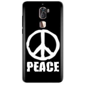 Coolpad Cool 1 Mobile Covers Cases Peace Sign In White - Lowest Price - Paybydaddy.com