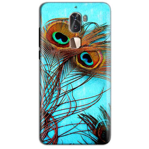 Coolpad Cool 1 Mobile Covers Cases Peacock blue wings - Lowest Price - Paybydaddy.com