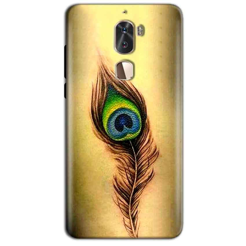 Coolpad Cool 1 Mobile Covers Cases Peacock coloured art - Lowest Price - Paybydaddy.com