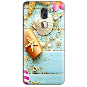 Coolpad Cool 1 Mobile Covers Cases Pearl Star Fish - Lowest Price - Paybydaddy.com