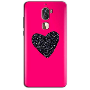 Coolpad Cool 1 Mobile Covers Cases Pink Glitter Heart - Lowest Price - Paybydaddy.com