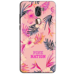 Coolpad Cool 1 Mobile Covers Cases Pink nation - Lowest Price - Paybydaddy.com
