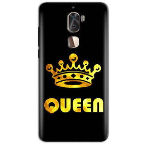 Coolpad Cool 1 Mobile Covers Cases Queen With Crown in gold - Lowest Price - Paybydaddy.com