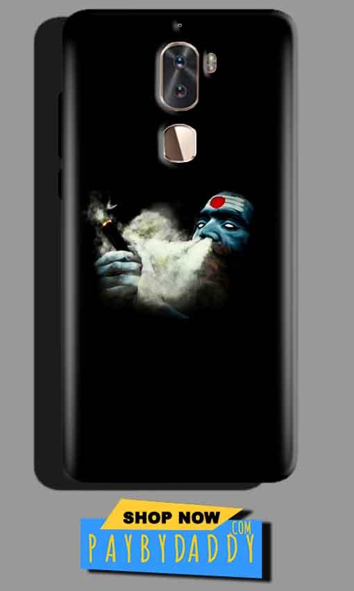 Coolpad Cool 1 Mobile Covers Cases Shiva Aghori Smoking - Lowest Price - Paybydaddy.com