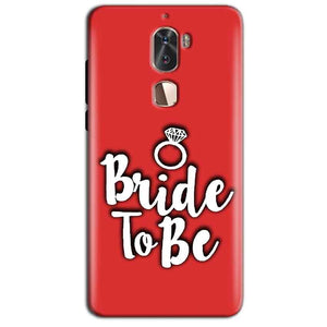 Coolpad Cool 1 Mobile Covers Cases bride to be with ring - Lowest Price - Paybydaddy.com