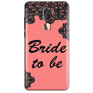 Coolpad Cool 1 Mobile Covers Cases Mobile Covers Cases bride to be with ring Black Pink - Lowest Price - Paybydaddy.com