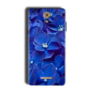 Coolpad Mega 2.5D Mobile Covers Cases Blue flower - Lowest Price - Paybydaddy.com