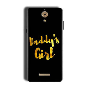 Coolpad Mega 2.5D Mobile Covers Cases Daddys girl - Lowest Price - Paybydaddy.com