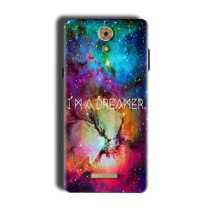 Coolpad Mega 2.5D Mobile Covers Cases I am Dreamer - Lowest Price - Paybydaddy.com
