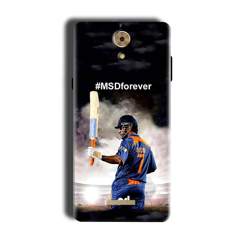 Coolpad Mega 2.5D Mobile Covers Cases MS dhoni Forever - Lowest Price - Paybydaddy.com
