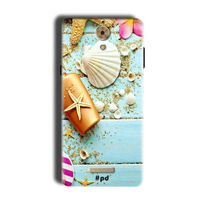 Coolpad Mega 2.5D Mobile Covers Cases Pearl Star Fish - Lowest Price - Paybydaddy.com