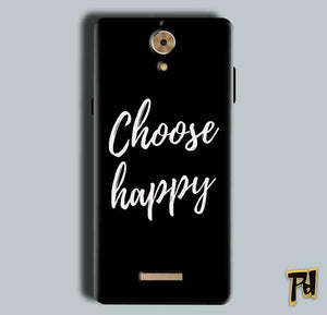 Coolpad Mega 2.5D Mobile Covers Cases Choose happy - Lowest Price - Paybydaddy.com