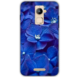 Coolpad Note 3 Plus Mobile Covers Cases Blue flower - Lowest Price - Paybydaddy.com