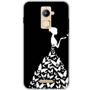 Coolpad Note 3 Plus Mobile Covers Cases Butterfly black girl - Lowest Price - Paybydaddy.com