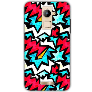 Coolpad Note 3 Plus Mobile Covers Cases Colored Design Pattern - Lowest Price - Paybydaddy.com