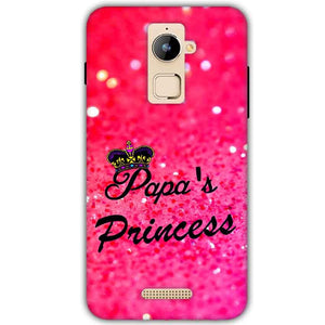 Coolpad Note 3 Plus Mobile Covers Cases PAPA PRINCESS - Lowest Price - Paybydaddy.com