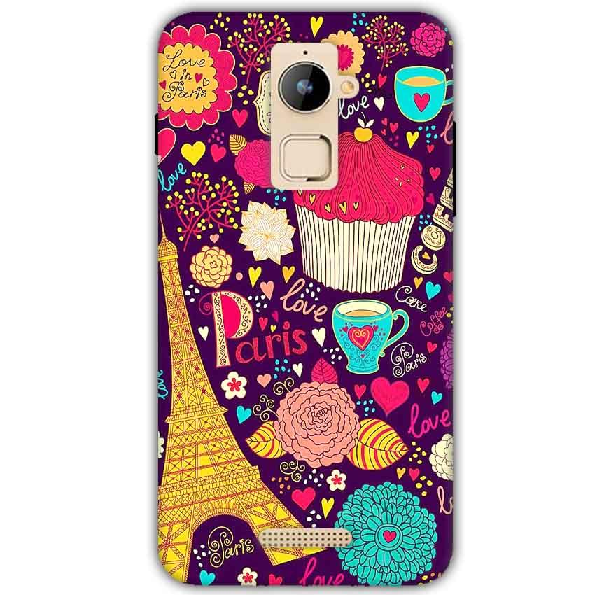 Coolpad Note 3 Plus Mobile Covers Cases Paris Sweet love - Lowest Price - Paybydaddy.com